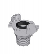 Claw Coupling Type B Male BSP