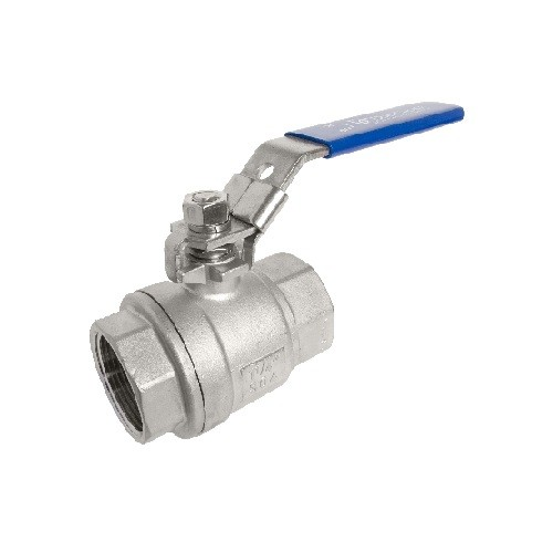 Stainless Steel Ball Valve Two Piece
