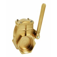 Brass Gate Valve with Lever Handle