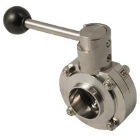 Butterfly Valve with Pull Handle Weld End