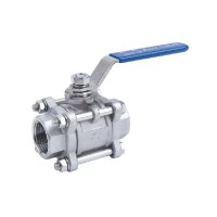 Stainless Steel Ball Valve Three Piece
