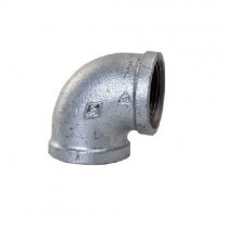 Galvanised Elbow Female