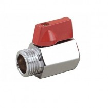 Mini Hex Ball Valve M/F